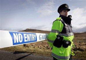 В Северной Ирландии в результате теракта тяжело ранен полицейский