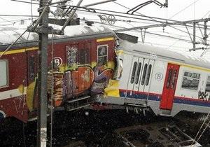Из столкнувшихся возле Брюсселя поездов извлекли тела 18 погибших