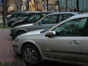 В Киеве появилось 36 новых парковок