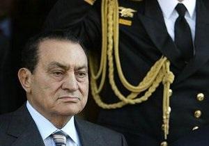 Прокуратура Египта потребовала для Мубарака смертной казни