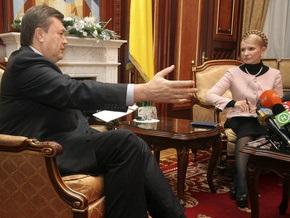 Секретариат Ющенко: Тимошенко и Янукович соревнуются за благосклонность Кремля