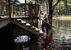 На Флориду обрушился ураган Дебби: есть жертвы