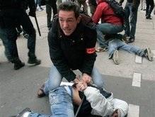 Демонстрации в Париже закончились арестами студентов