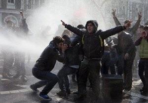 Новости Баку - новости Азербайджана - В Баку полиция применила резиновые пули для разгона оппозиционной демонстрации - протесты