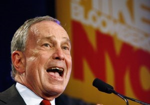 Майкл Блумберг в третий раз стал мэром Нью-Йорка