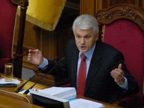 Литвин обвинил ПР и БЮТ в попытке создать избирательное законодательство  под себя