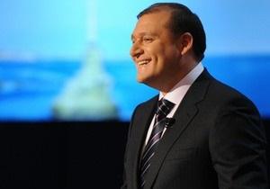 Добкин стал лауреатом общенациональной программы Человек года - 2009