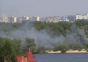 Киевские пожарные за сутки потушили 37 очагов возгорания
