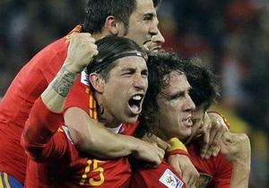 Испанский защитник возглавил рейтинг лучших игроков ЧМ-2010