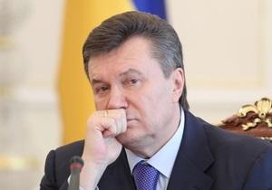 Янукович считает, что политические ссоры тормозят евроинтеграцию Украины