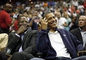 Обама - Во время операции по уничтожению Усамы бин Ладена Обама играл в карты
