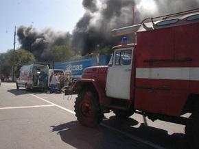 Пожар на АвтоЗАЗе потушен