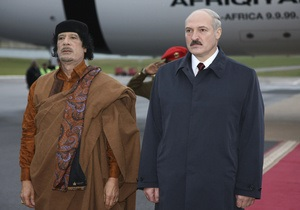 Лукашенко рассказал о своем телефонном разговоре с Каддафи