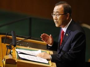 Генсек ООН призвал Израиль снять блокаду сектора Газа
