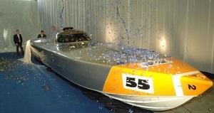 На мальтийской верфи Chaudron состоялся спуск на воду болида Evolution команды  Украинский дух