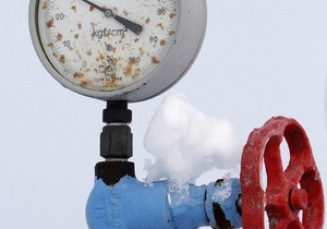 В январе Украина импортировала газ из Германии по $390/тыс. куб. м