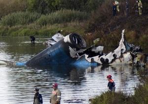 Крушение Як-42: Двигатели самолета работали до столкновения с препятствиями