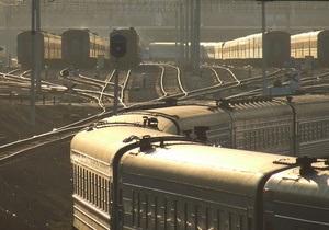 В России неизвестные заминировали железнодорожное полотно.  Задерживается поезд Баку-Киев