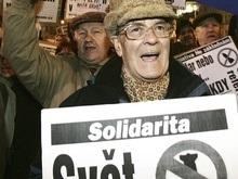 В Чехии прошла массовая акция протеста против размещения ПРО США