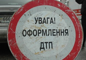 В Киеве водитель Daewoo сбил студента на пешеходном переходе