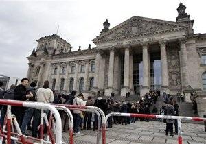 Мужчина покончил с собой у здания Рейхстага в Берлине