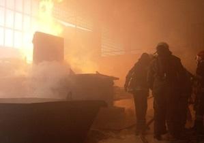 На львовском предприятии произошел взрыв при прессовании газовых баллончиков