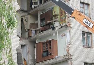 Прокуратура: Причиной обрушения дома в Луцке стала служебная небрежность чиновников