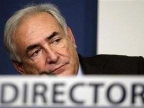 МВФ снял подозрения в домогательствах со Стросс-Кана