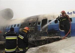 Вину за аварию Ту-154 в Иране возложили на российский экипаж