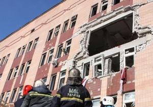 Взрыв в луганской больнице: взорвавшийся баллон был наполнен смесью газов