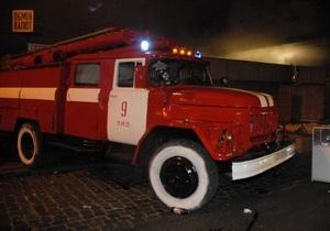 новости Львовской области - пожар - Во Львовской области сгорела дотла сельская школа