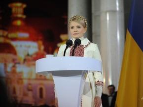 Тимошенко рассказала о своем сне и о том, как разгружала шины