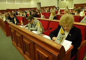 Киевские власти потратят еще почти треть миллиарда гривен на социально-экономическое развитие