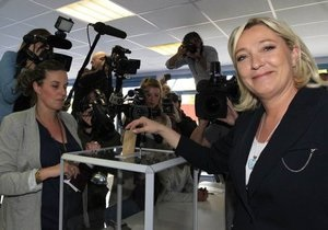 Во Франции завершился первый тур парламентских выборов