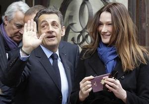 Саркози проголосовал предпоследним из кандидатов на выборах президента Франции