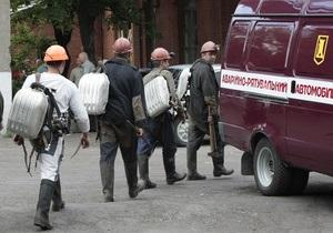 На Донбассе произошла вторая за сутки авария на шахте