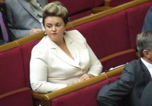 Ъ: Лилия Григорович вышла из Нашей Украины
