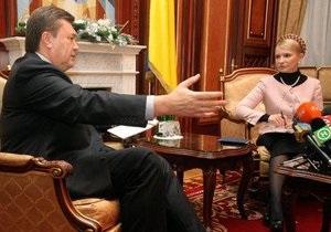 R&B: Януковича поддерживают в два раза больше украинцев, чем Тимошенко
