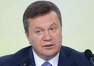 Янукович не видит необходимости в принятии закона о статусе Севастополя