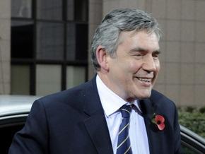 Браун считает, что избрание Блэра президентом ЕС отвечает интересам Великобритании