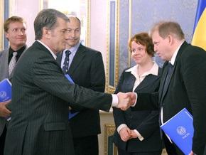 Ющенко заявил, что первая волна эпидемии гриппа миновала