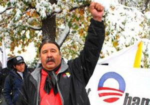 В США индейский борец с алкоголизмом арестован за сопротивление полиции в нетрезвом виде