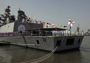 Индия  приняла на вооружение первый фрегат-невидимку собственного производства