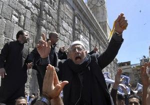 В знак протеста: в Ливии подал в отставку министр труда, в Сирии - посол во Франции