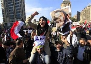 Египетская армия призвала демонстрантов разойтись по домам