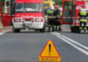 МИД: В ДТП в Польше пострадали пять львовских музыкантов