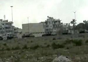Сирийские войска обстреливают город Латакия