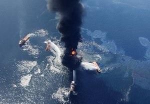 При пожаре на буровой платформе в Мексиканском заливе без вести пропали 11 человек