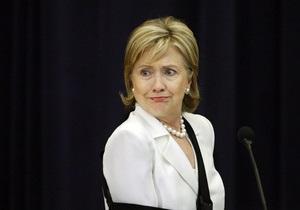 Визит Хиллари Клинтон в Украину запланирован на лето