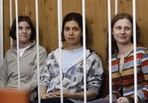 Суд признал участниц Pussy Riot виновными (обновлено)